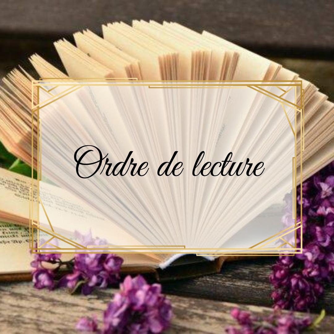 Ordre lecture des sagas